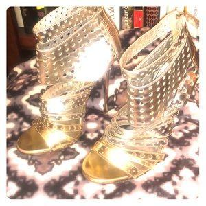 Jimmy Choi gladiator heels